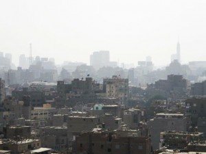 View of downtown Cairo. Photo: Simon Mulvey