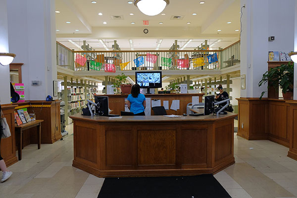 Front Desk Brooklyn Public Library