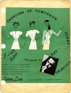 Fashions of Tomorrow Today