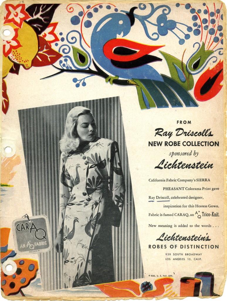 Lichtenstein Robe Collection