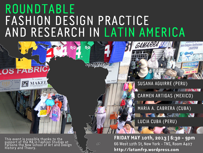 Roundtable Discussion: FASHION DESIGN PRACTICE AND RESEARCH
