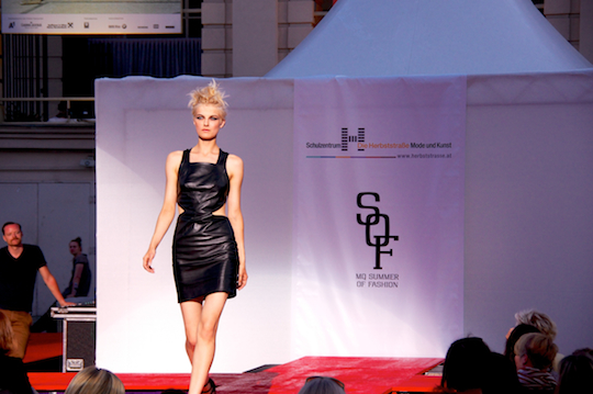 MQ Fashion Show (Photo by M. Reisenleitner