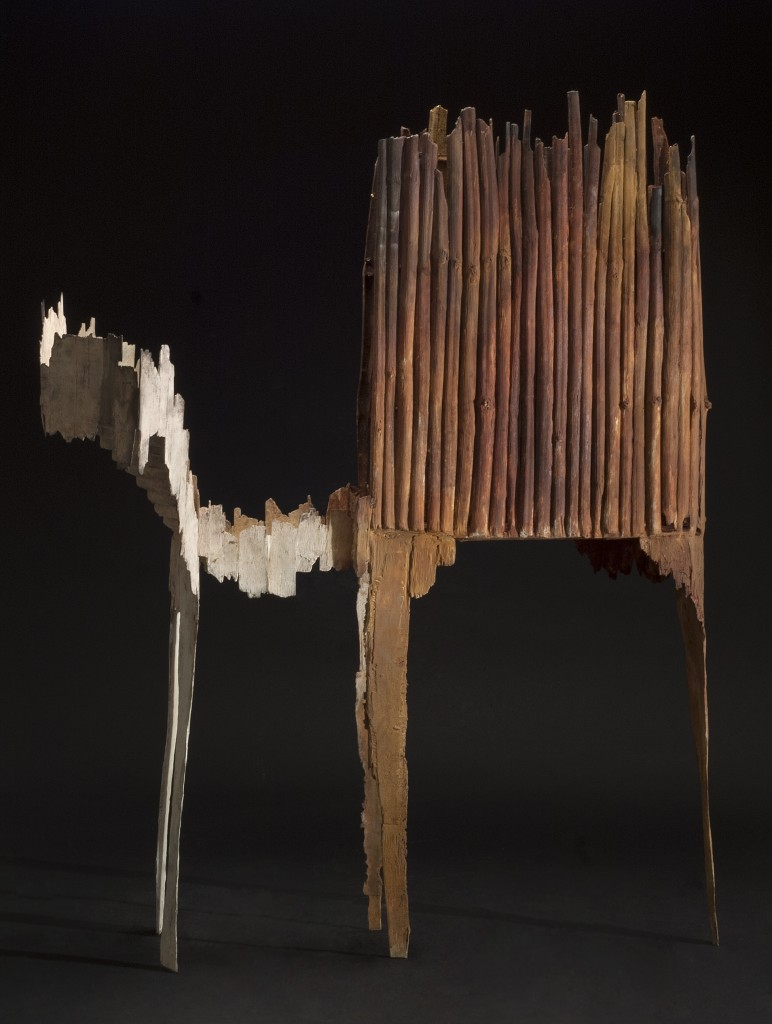 Guillaume Couffignal Théâtre, 2014 Bronze 41.5 x 32 x 25.5 inches 105.4 x 81.3 x 64.8 cm
