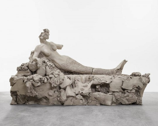 """""""mermaid,"""" 2014. © Urs Fischer. Courtesy of the artist and Gagosian Gallery. Photography by Melissa Christy."""