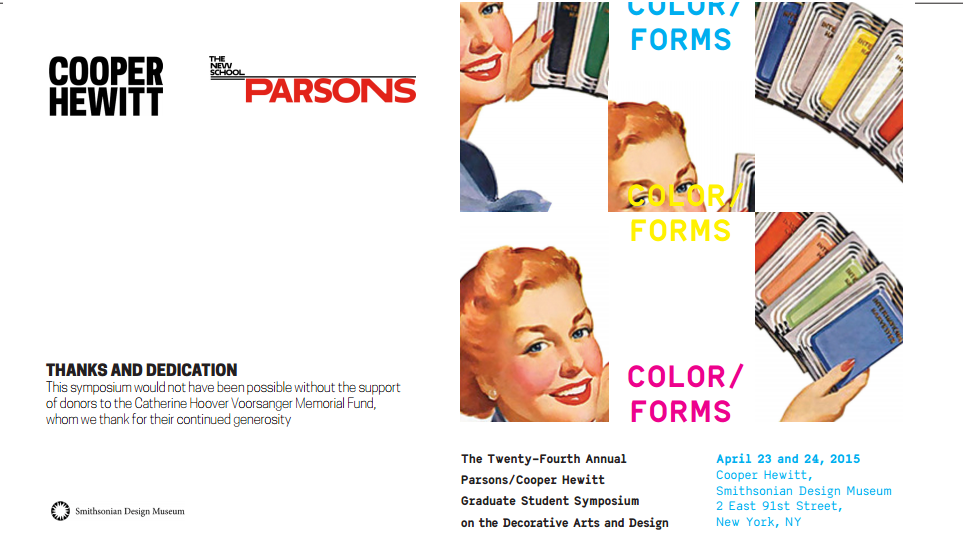 color forms poster banner