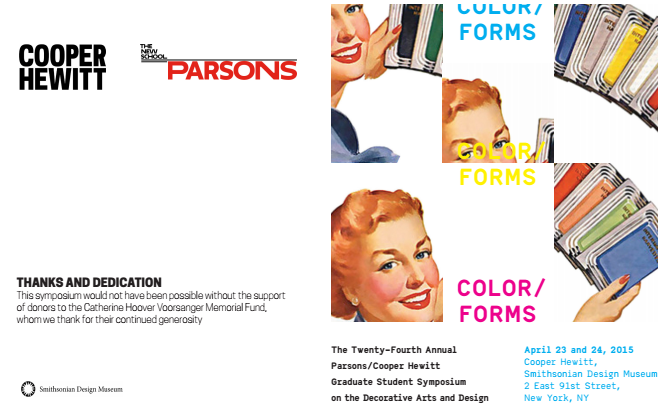 color forms poster