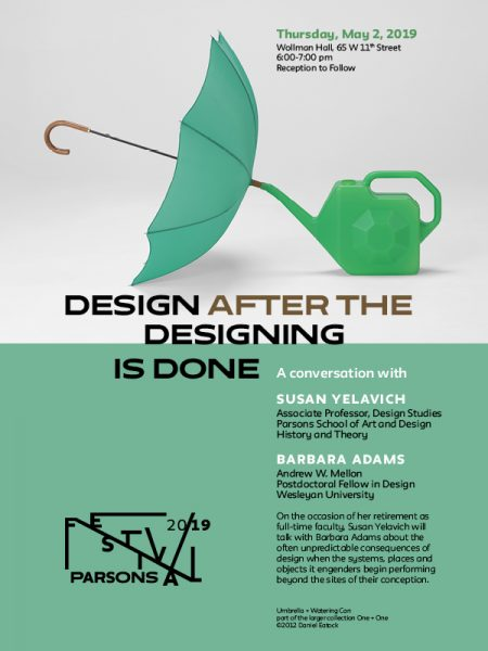 Designing after the Designing is Done