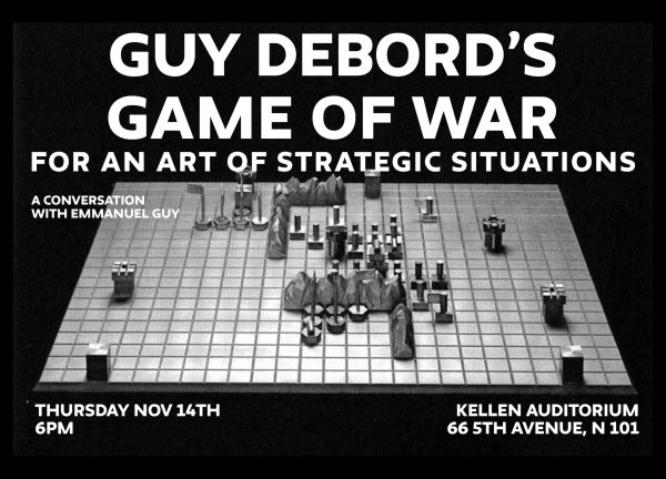 Guy Debord's Game of War: A Conversation With Emmanuel Guy